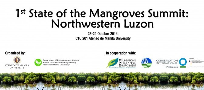 1st State of the Mangroves Summit: Northwestern Luzon