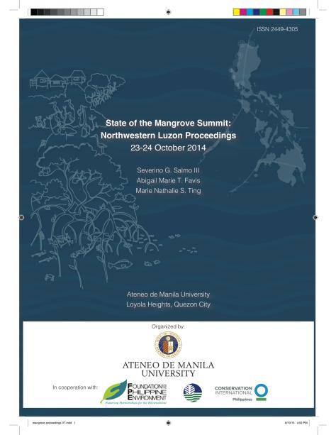 1st State of the Mangrove Summit Proceedings (Northwestern Luzon)