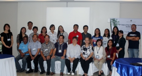 Participants of the 2nd Mangrove Summit coming from the academe, government and NGOs