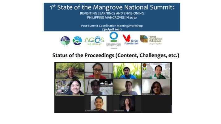 mangrove summit proceedings